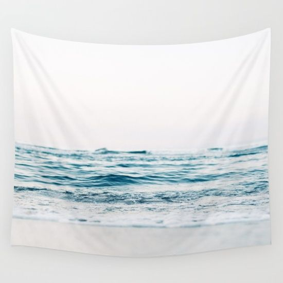 Calm Waves Wall Tapestry