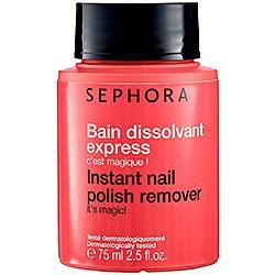 SEPHORA COLLECTION - Instant Nail Polish Remover  #sephora - O melhor removedor de esmaltes do mundo! Só por o dedo dentro e girar!