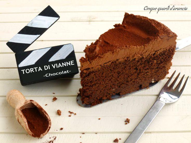 """LaTorta di Vianne è la seconda ricetta del mio speciale """"Ciak si mangia"""". Si tratta di una ricetta a cui tengo particolarmente: il primo motivo è che ho a"""