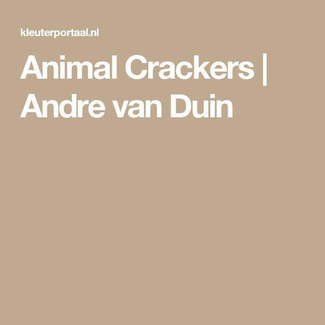 Animal Crackers   Andre van Duin