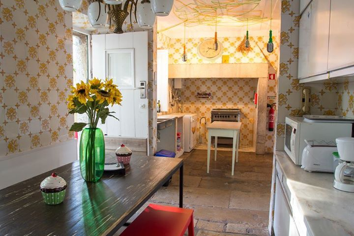 Kitchen for all; old tiles