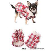 犬服ブランド【IS PET】 ギャザリングフリルジャケット 犬の服サイズ(S〜XL)