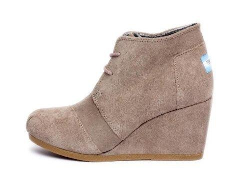 Toms Desert Wedge Taupe #shoes!!!!    AHHHHH I WANT THESE SO BAD!!!!!!!