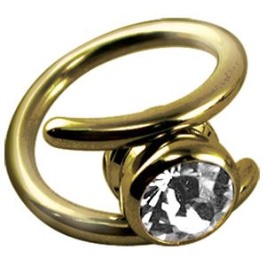 Zircon Crystal Clitoris Jewellery
