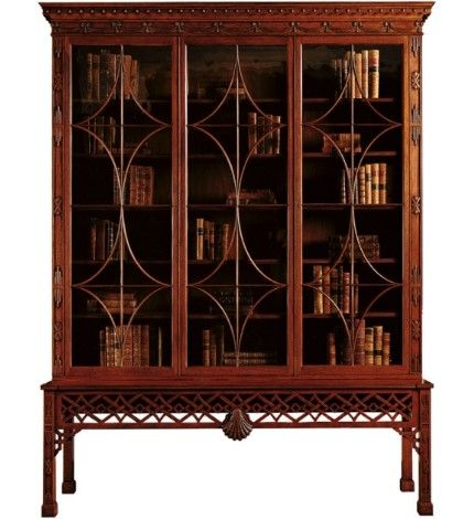 Lovely Chinese Chippendale Mahogany Cabinet
