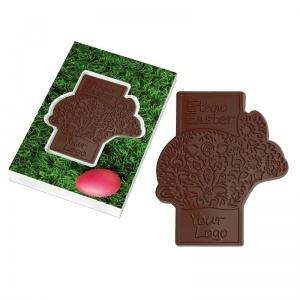 Ethno Easter - czekoladowy zajączek / chocolate bunny