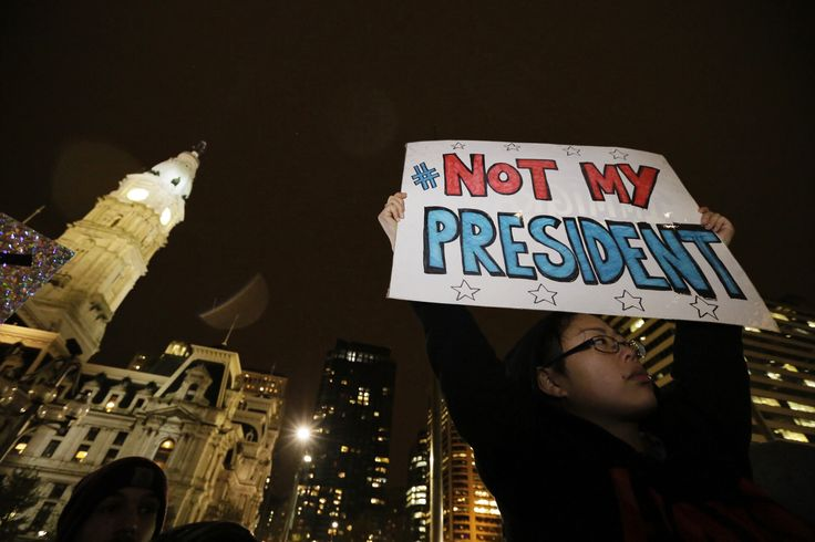 Vigils and protests arise in wake of Trump victory