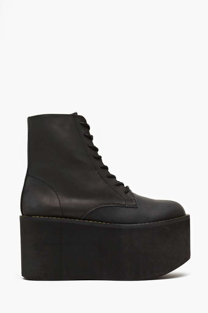Nasty Gal x Jeffrey Campbell Riot Platform Boot | Shop Shoes at Nasty Gal