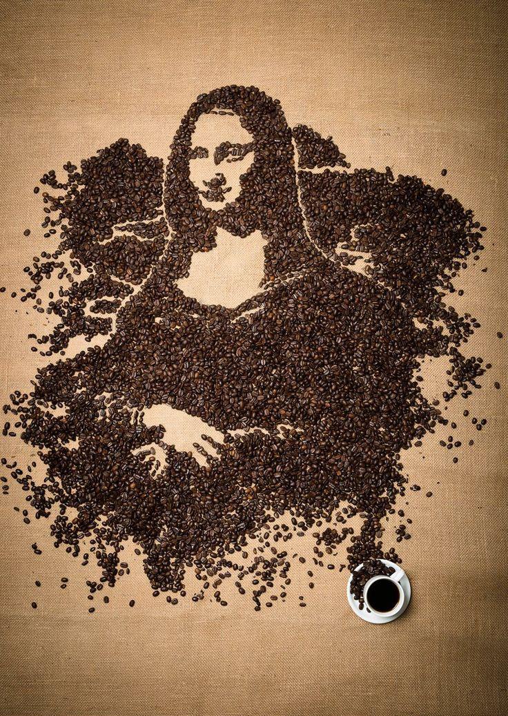 Best 25 coffee bean art ideas on pinterest coffee bean for Coffee painting designs