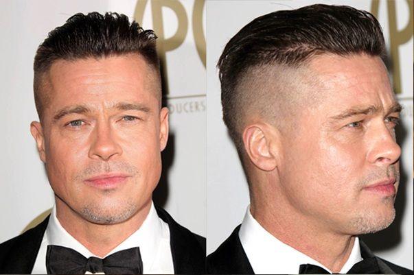 brad pitt fury haircut poster google search hair
