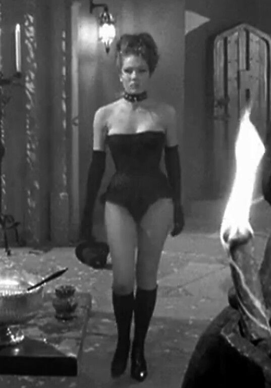 Diana Rigg ✾ as Emma Peel as the Queen of Sin, The Avengers.