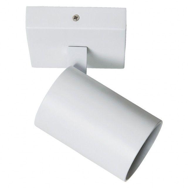 ASCOLI White metal single spotlight