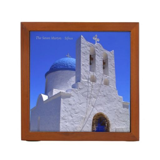 The Seven Martyrs – Sifnos Desk Organizers