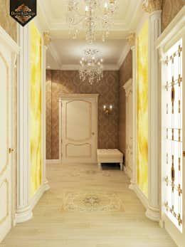 Projekty,  Korytarz, przedpokój i schody zaprojektowane przez Decor&Design
