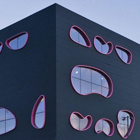 Tuvie Public Art Building - Will Alsop