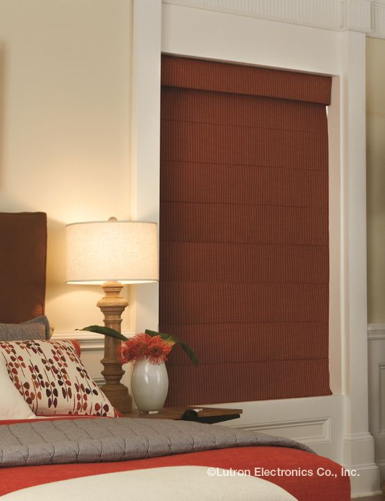 Beauty and function can be yours with Lutron wireless shades.