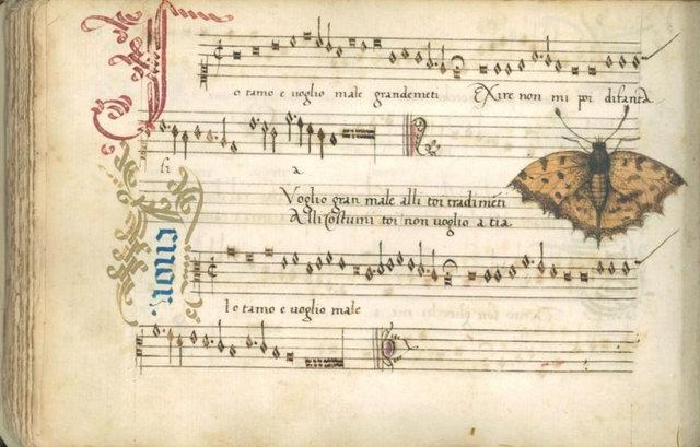 These are from a 16th manuscript in the Biblioteca estense universitaria.