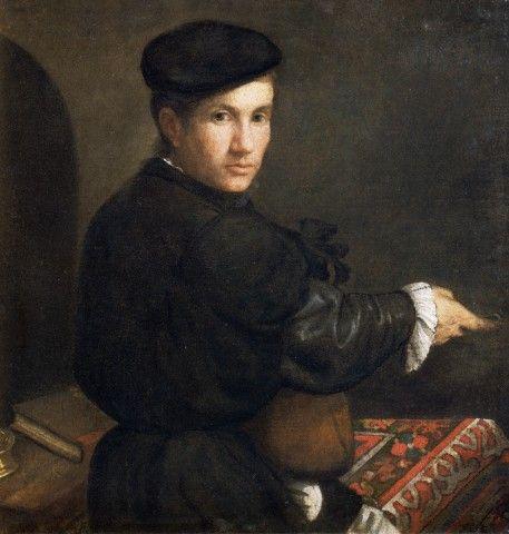 Portrait of a Musician by Lorenzo Lotto
