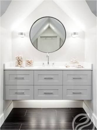 hamptons style bathroom vanity australia - Google Search