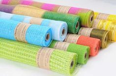 Poly Deco Mesh   Wholesale Poly Deco Mesh... Great site to buy all your deco mesh needs.