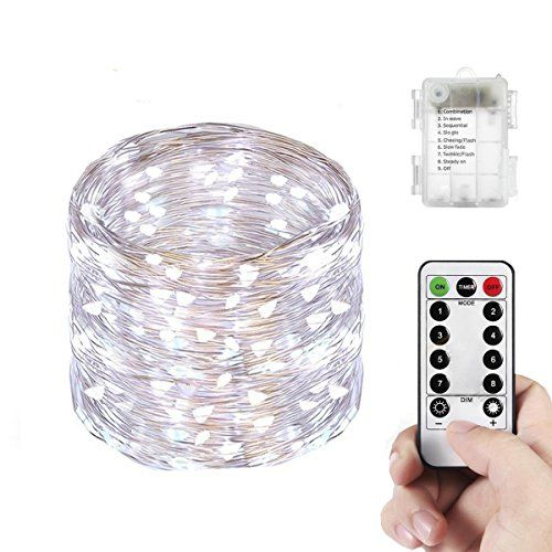 Yenl LED Mini Battery String Lights, 20 Feet,Cool White - Energy-saving The product has a low level of power consumption and contributes to the green recyclable environment. The string light help save your money while maintain its beauty and radiance. This light has a high level brightness and a pure radiance which steadily lasts even on rainy days or i...