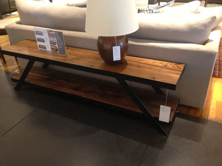 best metal and wood furniture  on Pinterest