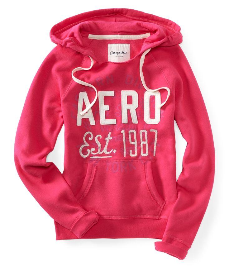 Aeropostale Girls | Details about Aeropostale Womens Girls Aero EST 1987 Popover Hoodie ...