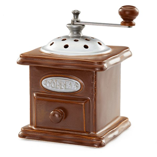 Morning Grind Scentsy Warmer $40.  Coffee Grinder Scentsy.  Modeled after an old-fashioned coffee grinder, this warmer embodies the vintage, antique-shop vibe that never goes out of style.