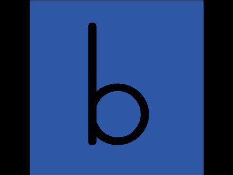 letter B video