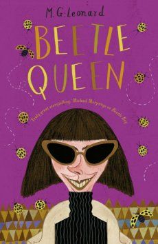 Beetle Queen, from middle grade writer M. G. Leonard, is the follow up from her huge hit - Beetle Boy.