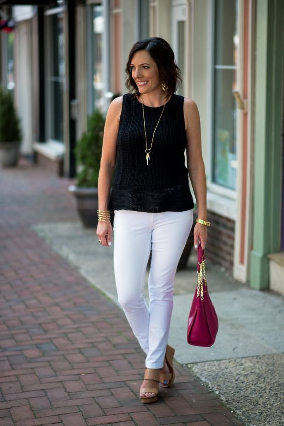 50 Gorgeous Summer Outfits For Women Over 40 Years Old In