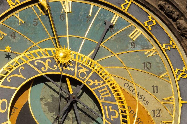 Astronomical Clock - Prague Old Town Square.