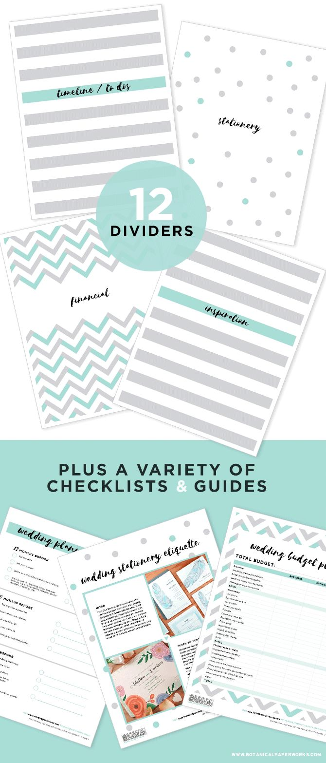 Check out our free Wedding Planning Binder Download. It'll help you reduce stress and stay on track!