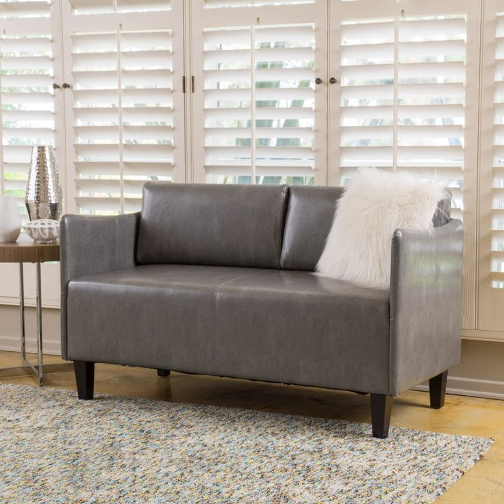 includes one 1 loveseat dimensions inches deep x inches wide x inches high assembly required enjoy this stylish modern loveseat in