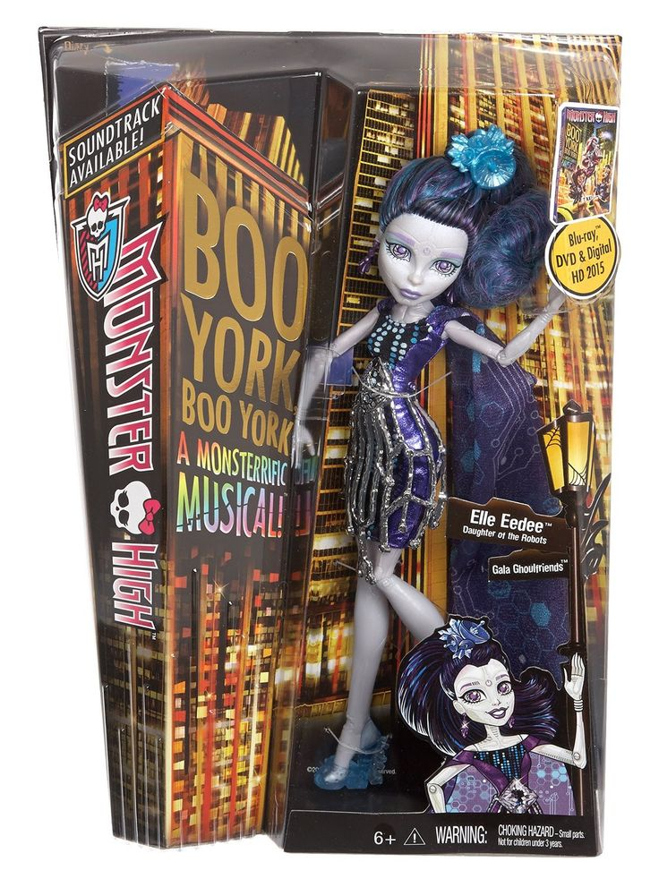 Monster High, Boo york Elle Eedee. 29.99$ Achetez-le info@laboiteasurprisesdenicolas.ca 450-240-0007