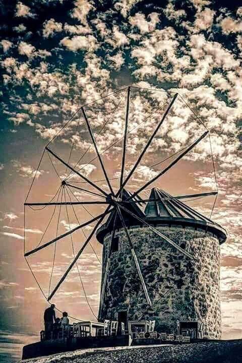 Windmill :: Turkey. •• Çeşme Türkiye.