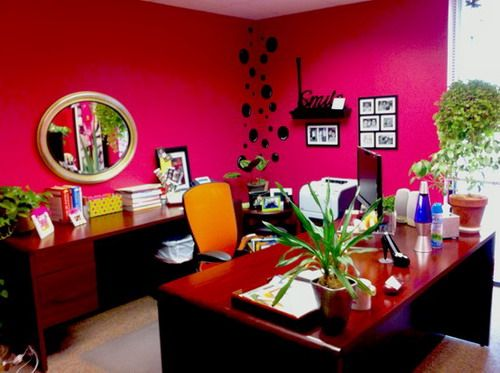 151 best pink office spaces images on pinterest | pink office