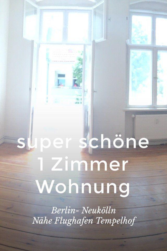 super  #schöne  #große 1 Zimmer  #Wohnung  #Berlin-  #Neukölln  Nähe  #Flughafen  #Tempelhof