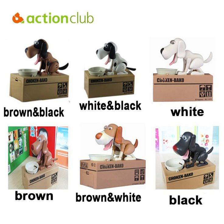 Children Electronic Toys Cute Dog Money Box 6 Color Kids Toys Coin Bank Piggy Birthday Gifts For Kids Money Saving Box