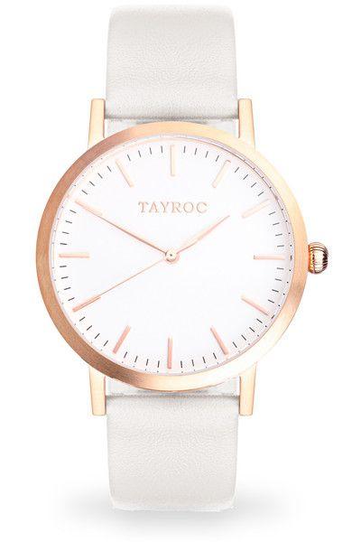 High Quality Swiss Quartz Classic Face Watch Women By Tayroc