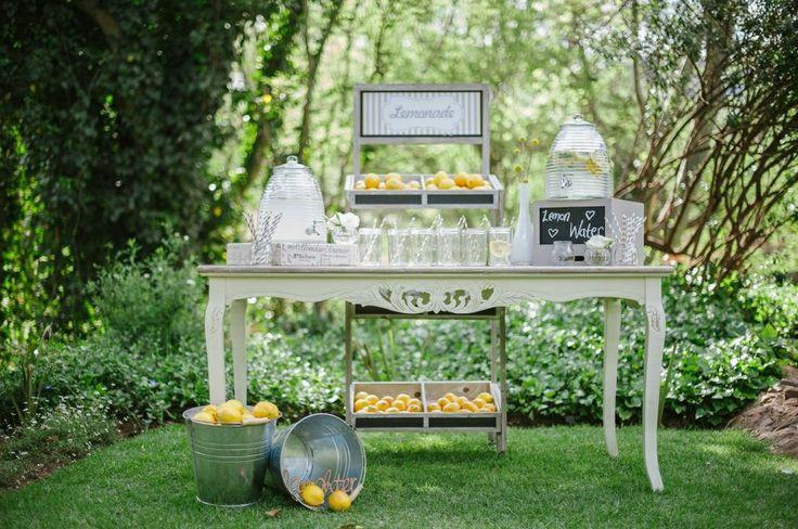 Vintage table for wedding pre-drinks.Styled magazine shoot. Flowers and decor by Decor Mechanics.www.decormechanics.co.za Photographer by Alexander Smith Photography