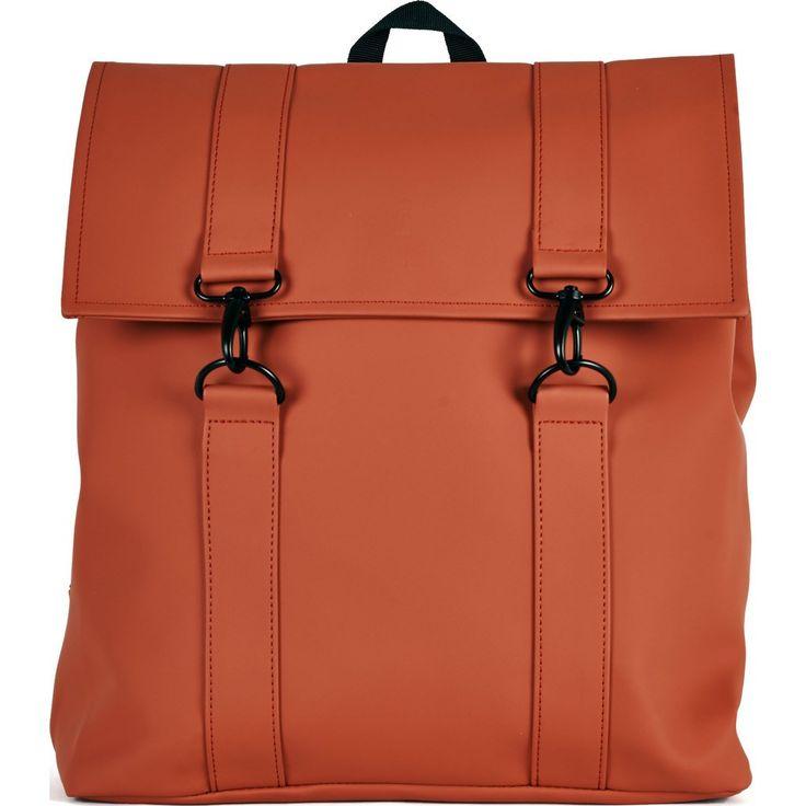 RAINS Waterproof Messenger Bag | Rust