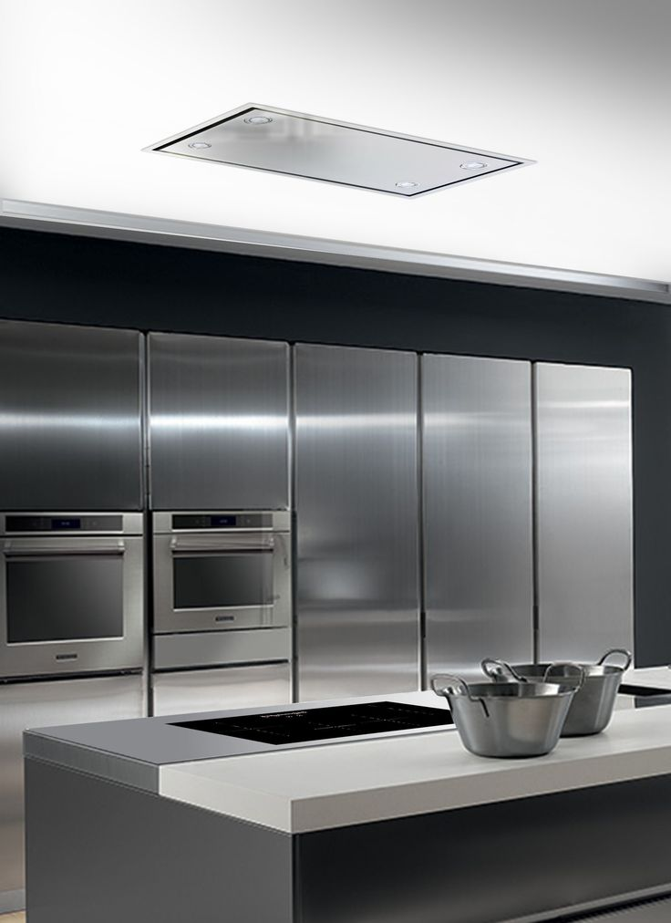 Flush ceiling mounted extractor hood arrow t72