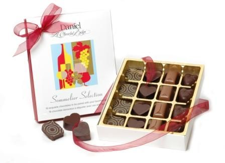 Sommelier Box- Pair your favourite wine with your favourite chocolate
