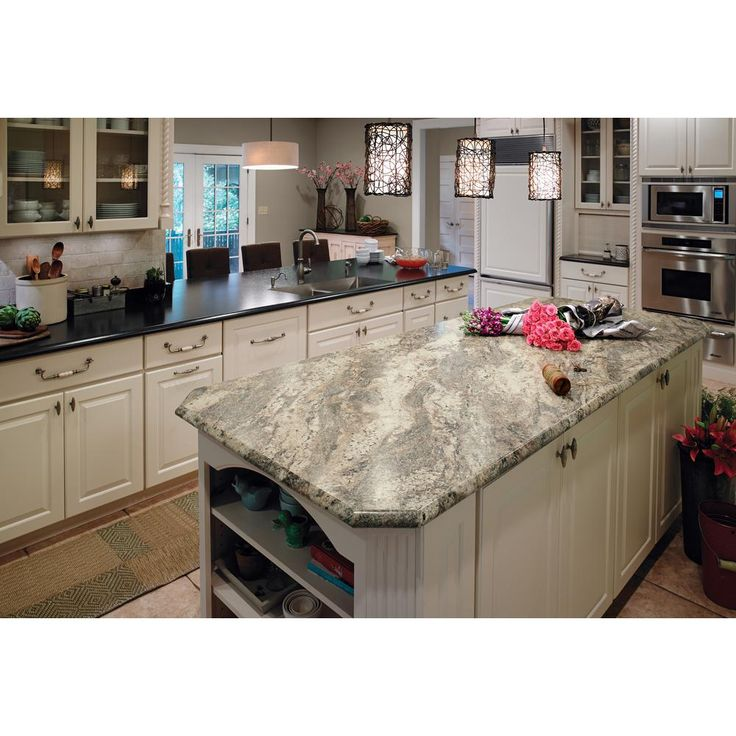 Formica 4 Ft X 8 Ft Laminate Sheet In 180fx Classic Crystal Granite With Radiance Finish