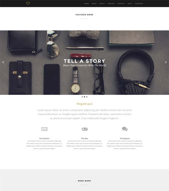 1000 images about 18 of the best parallax drupal themes for Drupal 404 template