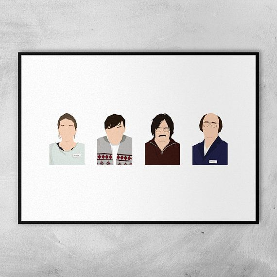 Derek / Ricky Gervais / Karl Pilkington Minimal by ComedyQuotes