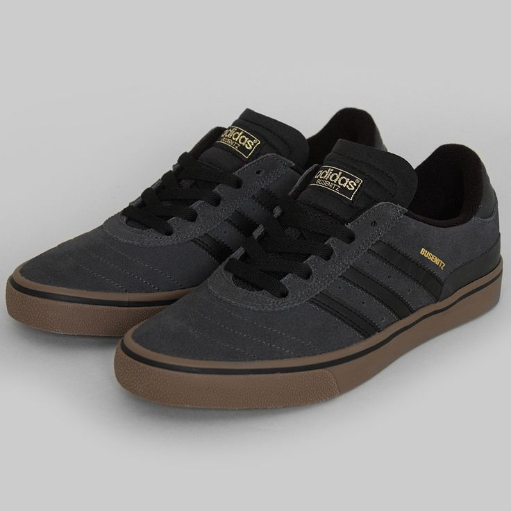 Adidas Busenitz Vulc shoes dark grey | Sneaky Kicks
