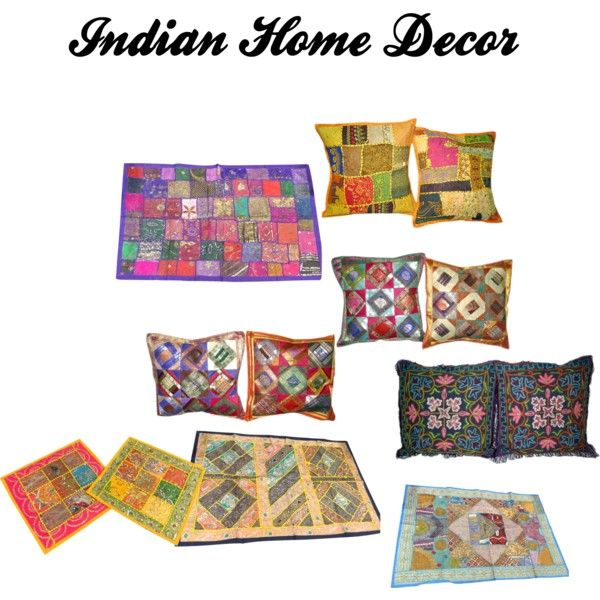 """""""Indian style home decor"""" by mogulinteriordesigns on Polyvore"""