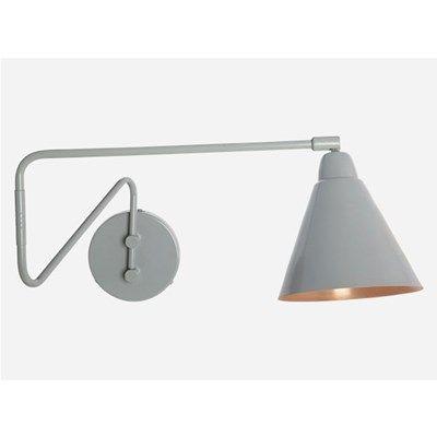 House Doctor Væglampe Game grå/kobber L 70 cm